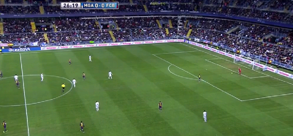 Messi presst, es steht noch 0:0