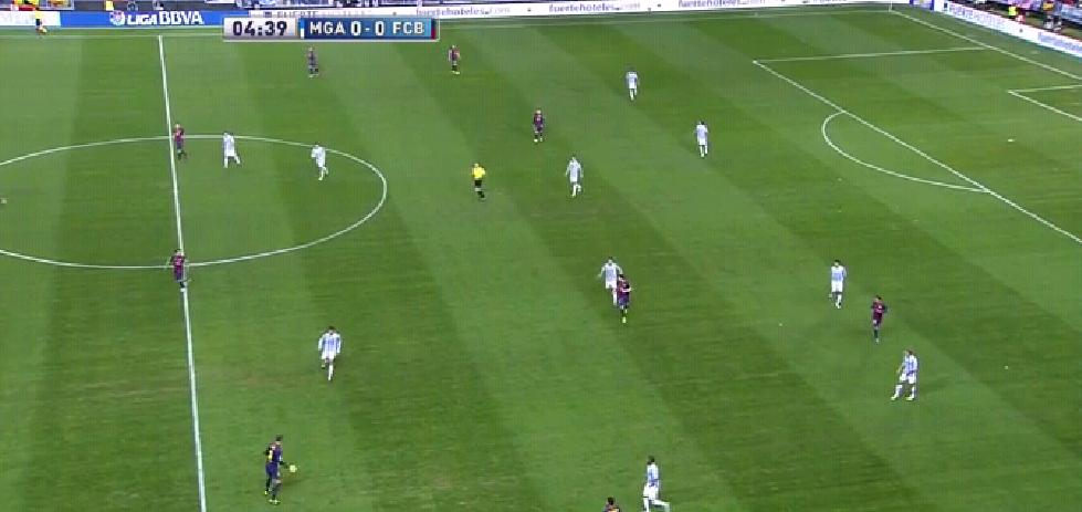 4-3-3 bei Barcelona-Angriff über rechts
