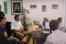 InStat bei einem Treffen mit der Abteilung von Juventus