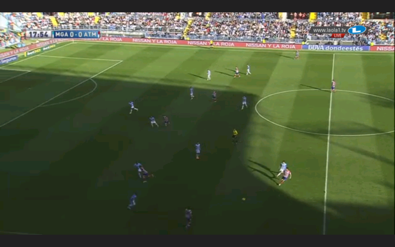 Malaga und der Libero: Ein kompaktes 1-4-4-1