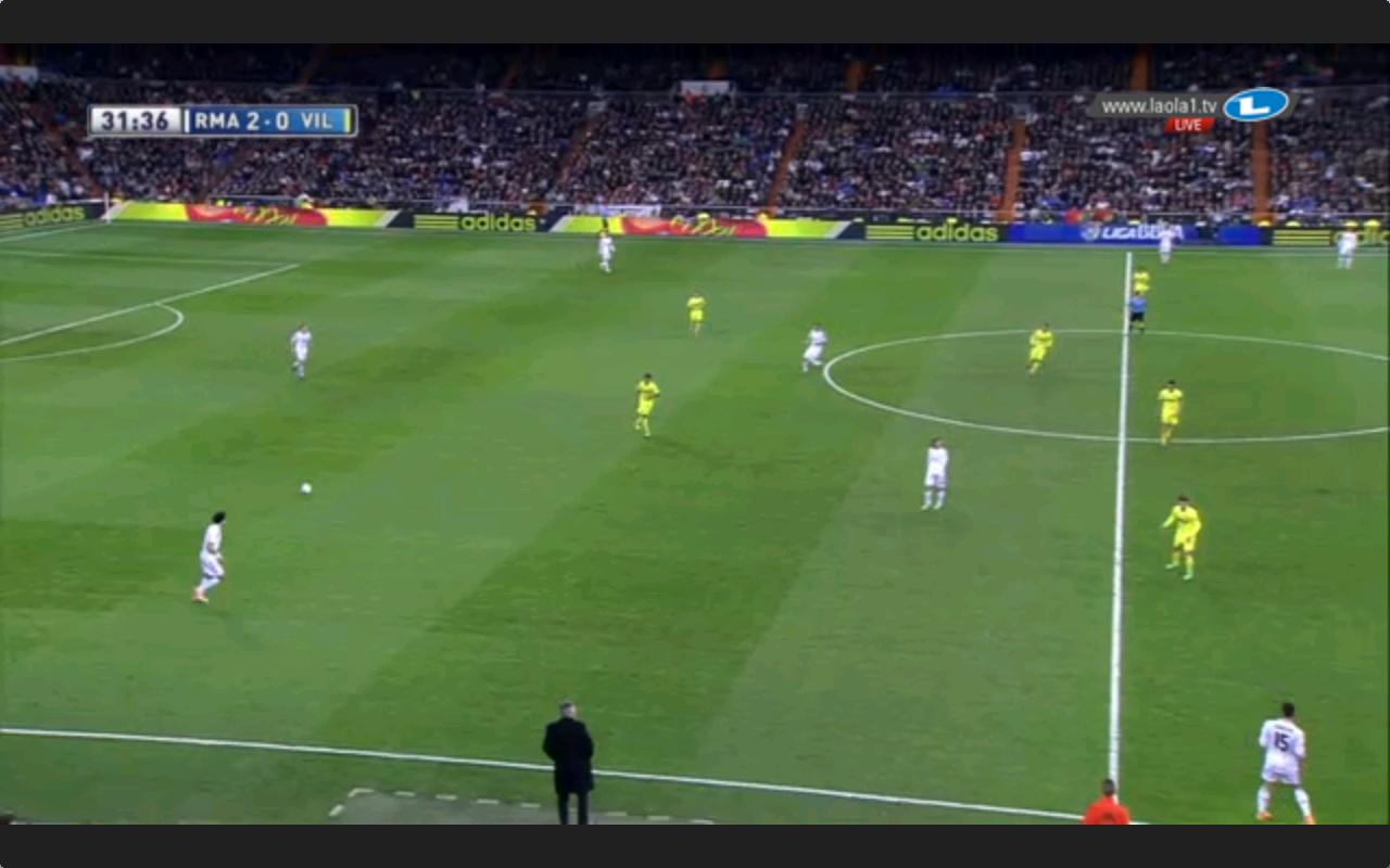 Hier sehen wir aber auch, dass nicht nur Modric etwas im Aufbauspiel tat, sondern auch Illarramendi, der immer wieder abkippte.