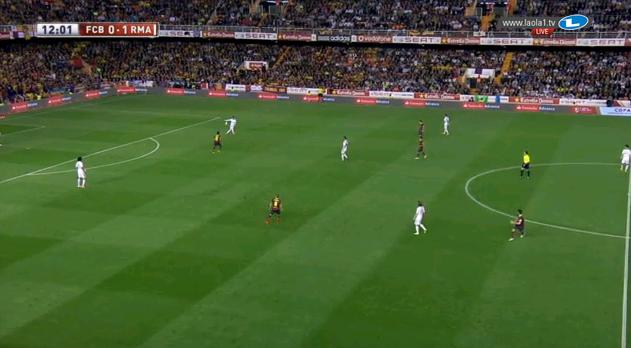 Barcelona im 4-1-1-3-1 mannorientiert