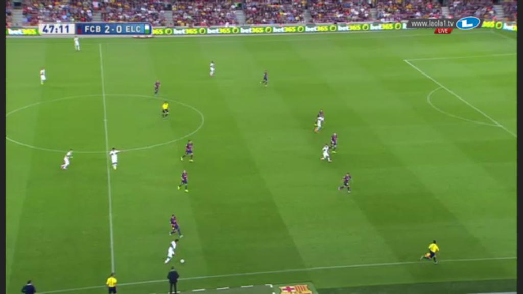 Barcelona im 4-4-1.