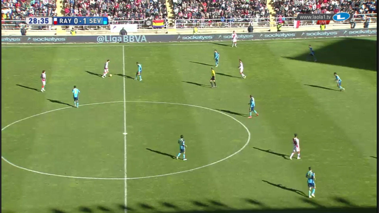 4-3-2-1 Umformung Sevilla