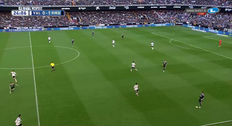 3-3-3-1 bei Valencia.