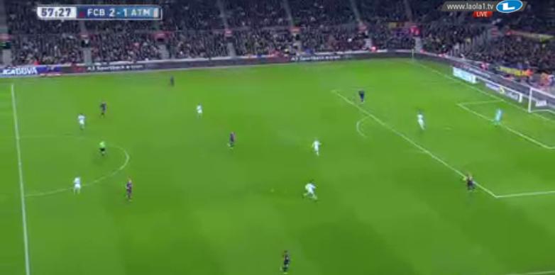 4-2-2-1-1 Atléticos.