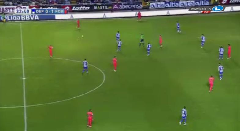 Deportivo war sehr unsauber