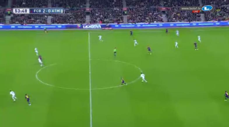 Selten wurde Atléticos hohes Pressing so gut umspielt.