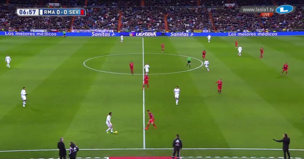 Sevillas 4-2-4-0/4-2-3-1
