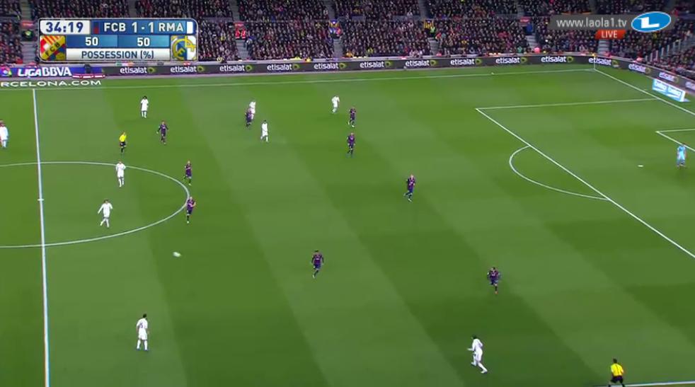 Barcelona Chaos gegen den Ball