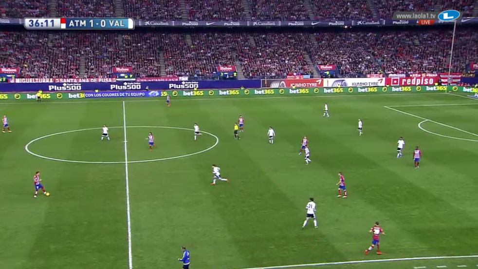 4-2-3-1 Pressing Valencia + Mechanismus